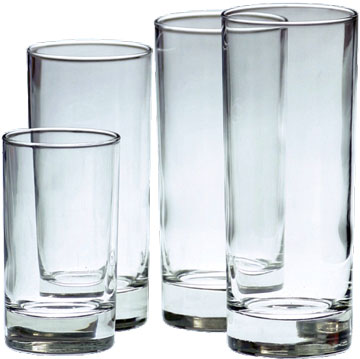 Drikkeglass og vaser